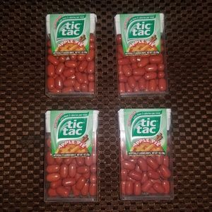 Tic Tac Rare 4 Pack Limited Edition Apple Pie 2017